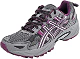 ASICS Women's Gel-Venture 5 Trail Running Shoe, Frost Gray/Gray/Silver/Magenta, 8.5 M US