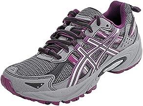 ASICS Women's Gel-Venture 5 Frost Gray/Gray/Silver/Magenta Running Shoe 8.5 M US