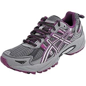 ASICS Women's Gel-Venture 5 Frost Gray/Gray/Silver/Magenta Running Shoe 9.5 M US