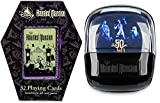 Attraction Departed Souls Disney Haunted Mansion Ghosts Characters Doom Buggy Ride Bundled with Coffin Playing Cards Box Set Spooky Creepy Times 2 Items