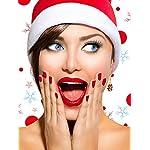 12 Paires Boucles d'Oreilles Pendantes de Goutte de Noël Ensemble de Boucles d'Oreilles de Bijoux de Noël pour Femmes… 10 Bijoutier Boutique Thème de Noël: notre ensemble de boucles d'oreilles a diverses formes, y compris bonhomme de neige, flocons de neige, boîte de cadeau, forme de clochettes, arbres de Noël, etc. articles de Noël classiques, l'air si mignon et adorable, correspond au thème de Noël, créant une bonne atmosphère de festival Matériau durable: ces boucles d'oreilles de Noël sont faites de métal avec une surface brillante et lisse, difficile à décomposer et vous pouvez l'utiliser longtemps avec un bon rangement Accessoire délicat: différents modèles de boucles d'oreilles sont plus faciles à assortir avec différents vêtements, adaptés à Noël, aux cérémonies, aux accessoires photo, assistez à une variété de parités, également très agréables pour un usage quotidien, aident à compléter votre accessoire de costume