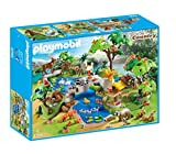 Playmobil- Grand Set Animaux de la forêt, 4095