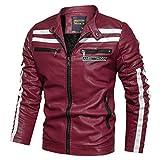 Xmiral Sweatshirt Sportiva Felpa T-Shirt Outwear Jacket Uomo Invernale Panciotto Gilet Uomo Piumino Giubbotti Suit Vest Camicia Sportivo Maglia Felpa Uomo Canotta Uomo Palestra (L,3- Rosso)