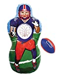 Kovot Inflatable Sports Target Set - Inflates to 5 Feet Tall! - Soft Mini Toss Balls Included (Football)