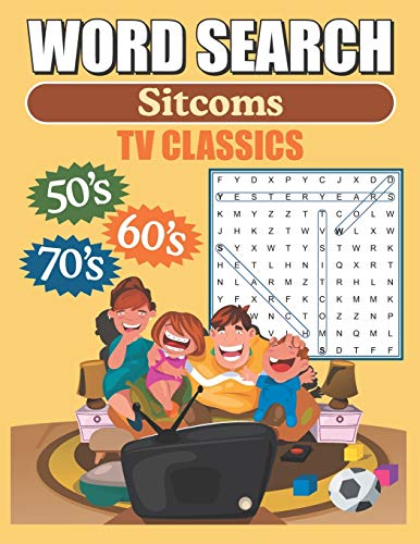 Compare Textbook Prices for Word Search Sitcoms TV Classics: Large Print Word Find Puzzles  ISBN 9781076779861 by Publishing, Greater Heights