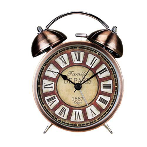 BOENTA Despertador fornite despertadores Digitales Reloj de Escritorio Reloj de proyección Dormitorio Reloj Reloj Despertador de proyección Brown