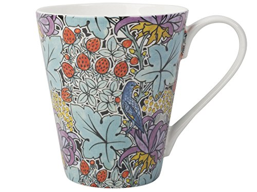 Creative Tops V&A VOYSEY Bird and Strawberry Fine Bone China MUG In Gift Box