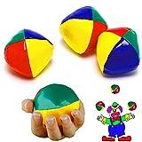 German-Trendseller ® -6 x Jonglierbälle Zirkus l 50 mm┃ Jongleur