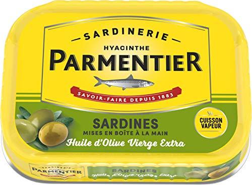 PARMENTIER Sardines À L'huile D'olive Vierge Extra 135g