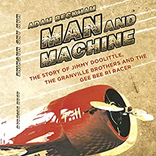 Man and Machine audiobook cover art