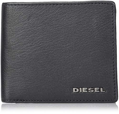 Diesel Herren THEBEIS HIRESH S - Wallet Geldbörse, schwarz, Einheitsgröße