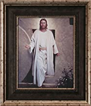 He is Risen by Del Parson, Resurrected Jesus coming out of Tomb