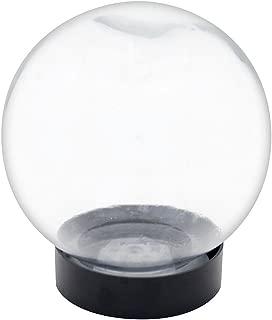 Achla Designs Glass Flower Aquarium, Globe Vase