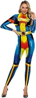 3D Print Costume Cosplay Jumpsuit Costumes Girl Plus Size Bodysuit