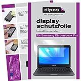 dipos I 2X Schutzfolie klar kompatibel mit Samsung Chromebook Pro Folie Bildschirmschutzfolie