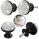 Single Hole Cabinet Knobs and Pulls 4PCS Door Cupboards Drawers Bedroom Furniture Handles Knob White