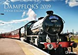 Dampfloks 2019: Wandkalender Motor -