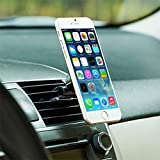 Premium Quality Magnetic Car Mount AC Air Vent Holder for iPhone 7 6 6S, Plus, SE, 5S 5C 5 4S (All Carriers Including AT&T, T-Mobile, Sprint, Verizon, Straight Talk, Unlocked)