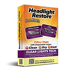 Top 10 Best Headlight Restoration Kits of 2019 - Reviews