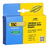 Tacwise 1216 Grapas de acero inoxidable de tipo 140/8 mm
