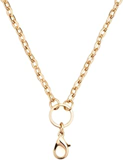 28 Inch Rolo Chain Necklace for Floating Charm Lockets
