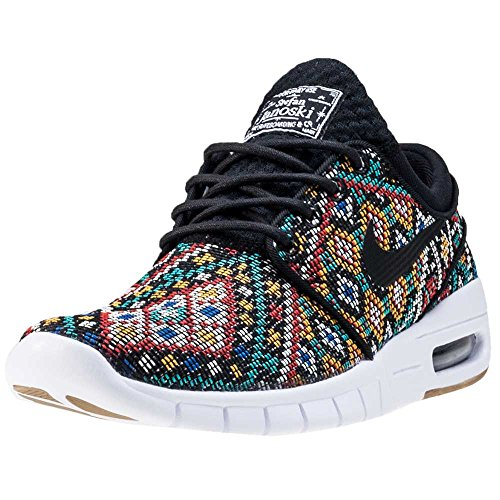 Nike - Stefan Janoski Max Prm - 807497003 - Couleur: Jaune-Noir-Rouge - Pointure: 38.5