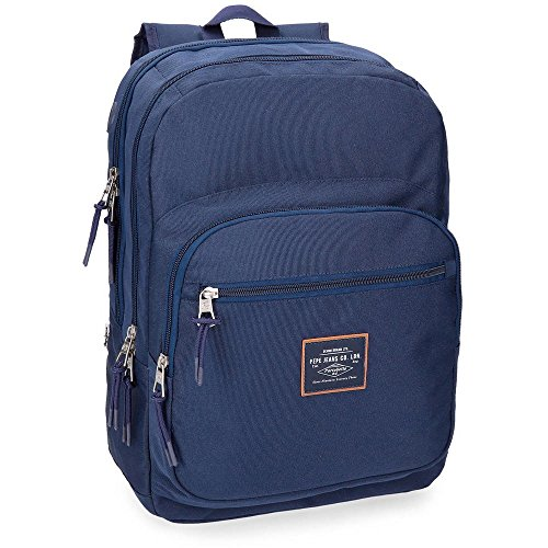 Pepe Jeans Cross Mochila doble compartimento, 44 cm, color