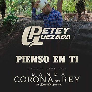 Pienso en Ti (feat. Banda Corona Del Rey)