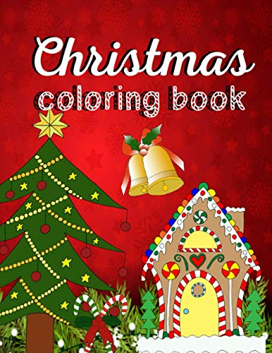 Christmas Coloring Book: Beautiful coloring book for kids with holiday designs (Christmas Series)