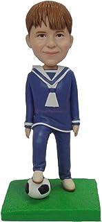 bambola di argilla polimerica Personalizzato personalizzato bambino figurina calcio ragazzo ragazzo regalo di compleanno f...