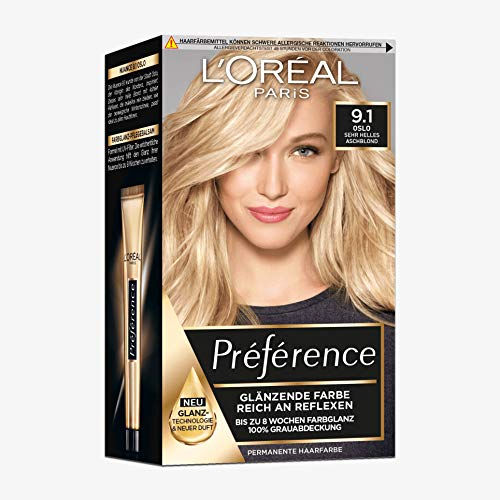 L'Oral Paris Preference Viking 9.1 Light Ash Blonde by L'Oreal Paris
