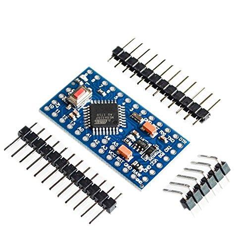 ARCELI Pro Mini Enhancement ATMEGA328P 16MHz 5V Compatibile con il modulo Arduino PRO TE362