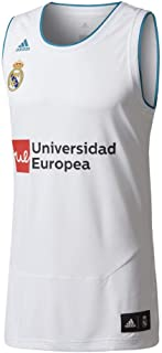 35b8b3a5 adidas RM Replica Camiseta Línea Real Madrid FC, Hombre