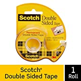 Scotch Brand Double Sided Tape, Strong, Photo-Safe, Engineered...