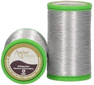 Anchor 4316000-00301 Fil /à broder en polyester Argent/é