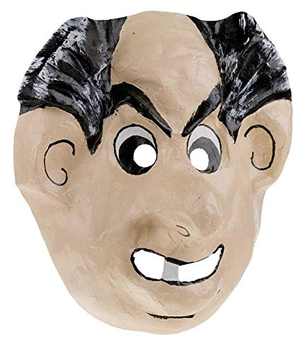 Unbekannt Maske Pappe Gargamel Theatermaske