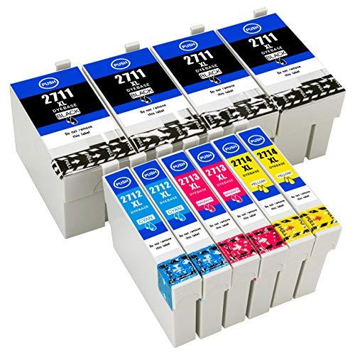 ESMOnline 10 kompatible XL Druckerpatronen (4 Farben) als Ersatz für Epson 27 (T270x/T271x) zu Epson Workforce WF 7720DTWF 7715DWF 7710DWF 7620DTWF 7610DWF 7210DTW 7110DTW 3640DTWF 3620DWF