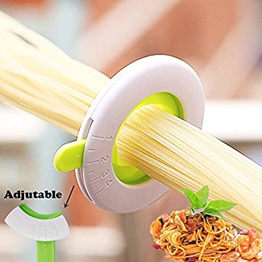 Veizn Spaghetti measuring tool,Noodle selector,pasta measurer tool, Noodles Component Selector Quantitative Adjusting disk,Spaghetti Measurer Tool, Pasta Portion Control Gadgets,By