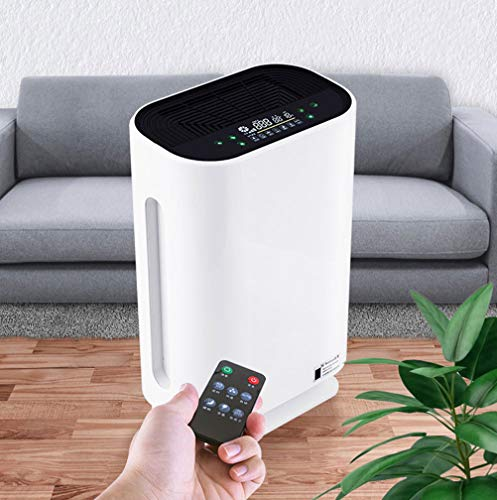 Sale!! FIRMERS Air Purifier with Air Quality Monitor, Air Filter with Sleep Mode, Timer, Gentle Nigh...