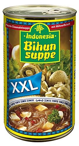 Indonesia Original Bihun Suppe, Leckeres Fertiggericht mit Gemüse und Hähnchen, 1150 ml