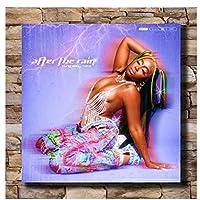 ベビーテイトキャンバスポスターアートプリント2021アフターザレインミュージックミックステープリビングルームの装飾キャンバスにプリント60x60cmフレームなし