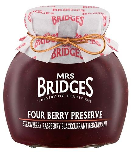 Mrs Bridges Four Berry Preserve 340 g