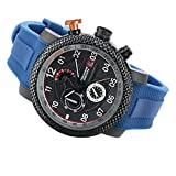Stauer Men's Atomic 14 Chronograph Watch with Blue Band