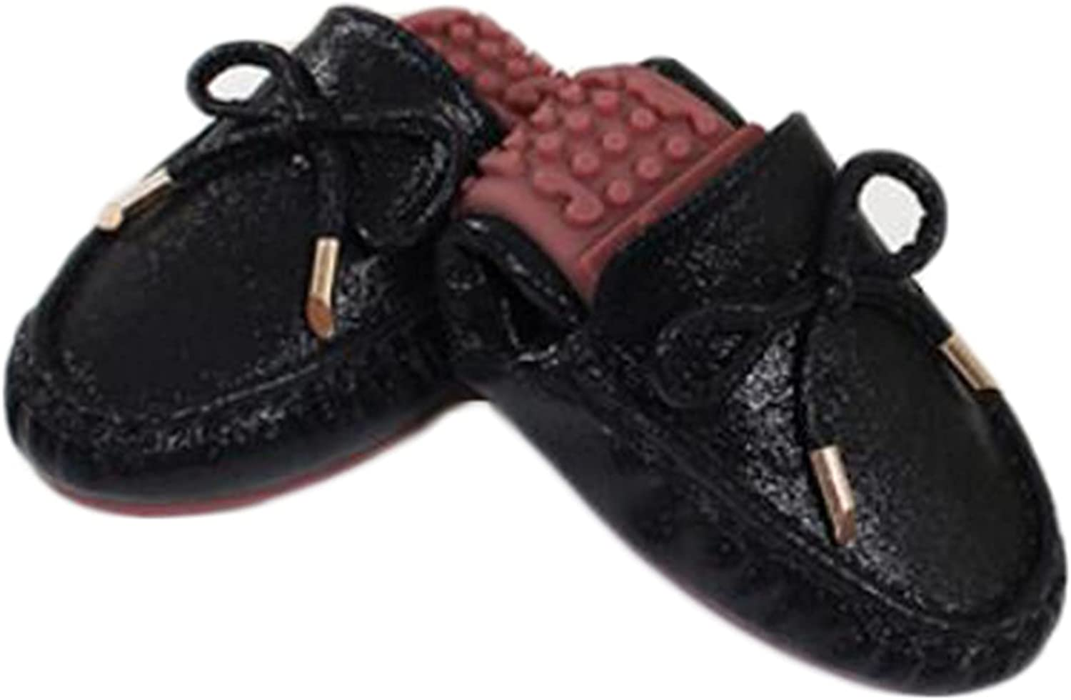 unisex Women Walking Memphis Mall Shoes Round Toe Bowtie Outdoor Casual Flats