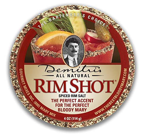 Demitri's Bloody Mary Spiced Rim Salt 4 oz