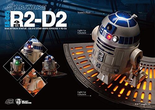 The Dancing Peanut Estatua de Ataque de Huevo de Star Wars con función de Sonido y luz R2-D2 (Episodio IV) 13 cm