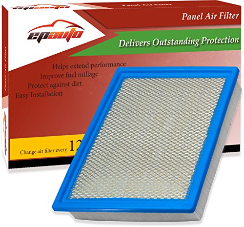 EPAuto GP883 Replacement for Ford Rigid Panel Engine Air Filter for Expedition (2007-2019), F-150 (2009-2019), F-250 Super Duty (2008-2017), F-350 Super Duty (2008-2017),Navigator(2007-2019)