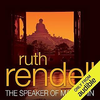 The Speaker of Mandarin audiobook cover art