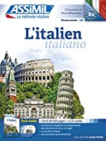 L'Italien Book + 4 Audio CDs (Sans Piene)
