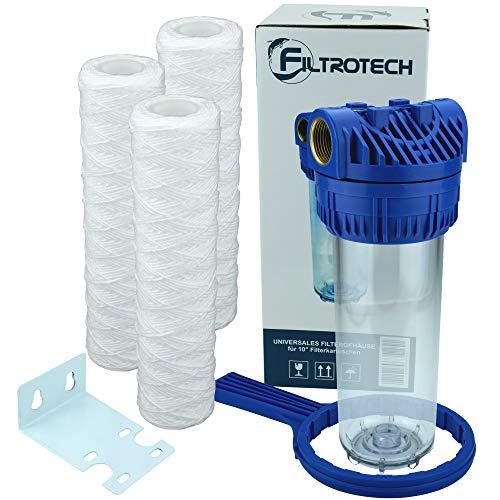 Wasserfilter 10 Zoll Anschluss 1